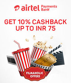 movie ticket cashback offer