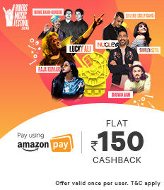 Amazon Pay Riders Music Festival Ticket Offer - BookMyShow