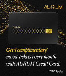 AURUM credit card offer - BookMyShow