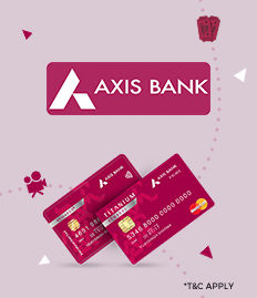 Axis Bank Titanium Rewards Offer - BookMyShow