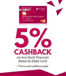 axis bank cashback offer