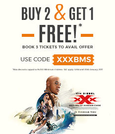 xxx: return of xander cage movie ticket offer bookmyshow