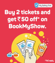 Buy 2 tickets and get Rs 50 off