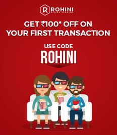 Rohini Silver Screen Movie ticket Offer for First Time User