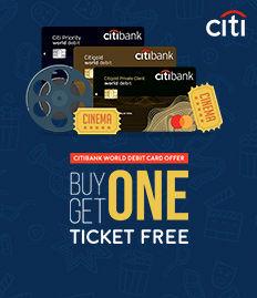 CITIBANK WORLD DEBIT CARD - BUY ONE GET ONE FREE