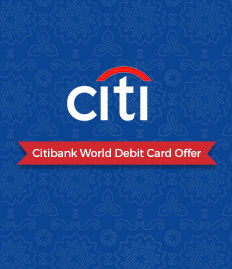 Citibank World Debit Card – Buy One Get One Free