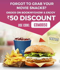 movie snacks Rs.50 Discount offer bookmyshow