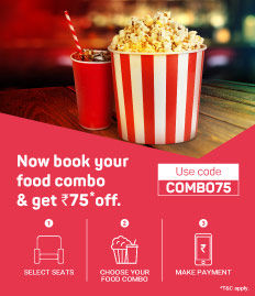 Discount on food combos on BookMyShow