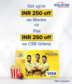 Equitas CSK Debit Card Offer