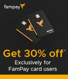 FAMPAY CARD OFFER - BookMyshow