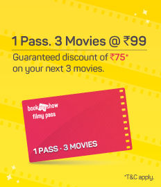 Filmy Pass - Rs.75 off on movies