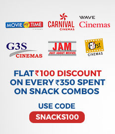 Flat 100 discount on snack combos