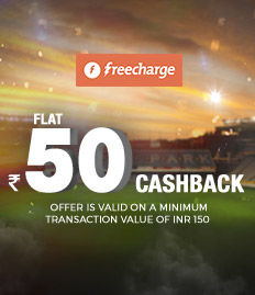 Freecharge wallet cashback offer on movie ticket