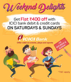 icici bank weekend delights non movie offer
