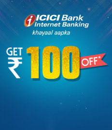ICICI Netbanking Weekend movie ticket Offer