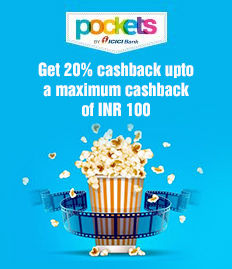 ICICI Movie Ticket Offer