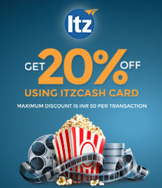 ItzCash Card Movie offer
