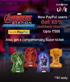 100% CashBack - PayPal Offers on Avengers Station