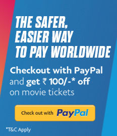 Paypal Booking - Rs.125 Discount Voucher On Next Booking - BookMyShow