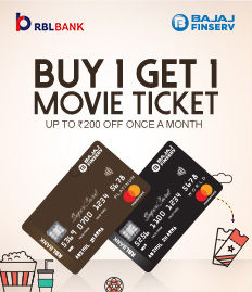 Bajaj Finserv RBL Bank SuperCard offer - BookMyShow