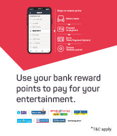 Redeem BookMyShow Reward Points