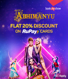 Abhimanyu Event | Rupay Card Offer - BookMyShow
