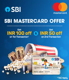 SBI Debit Mastercard Offer | Movie Ticket Offers - BookMyShow