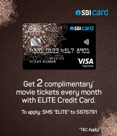 SBI Signature and Elite credit card INR 500 off offer