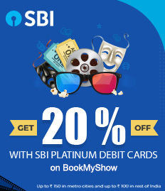 SBI Platinum Debit Card Offer - BookMyShow