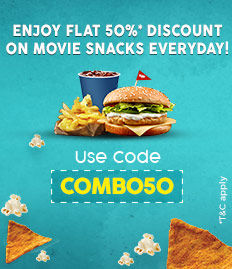 movie snacks discount offer bookmyshow