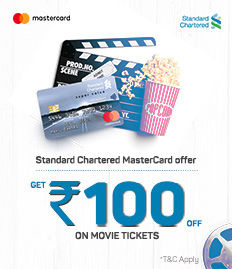 Standard Chartered Master Card Offer - BookMyShow