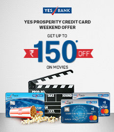 YES Prosperity Credit Card Weekend Offer - BookMyShow
