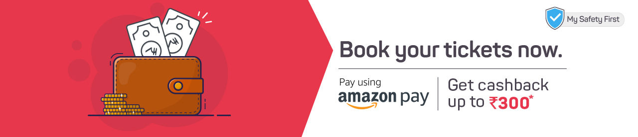 Amazon Pay Cashback Offer Online Movie Ticket Offer - BookMyShow