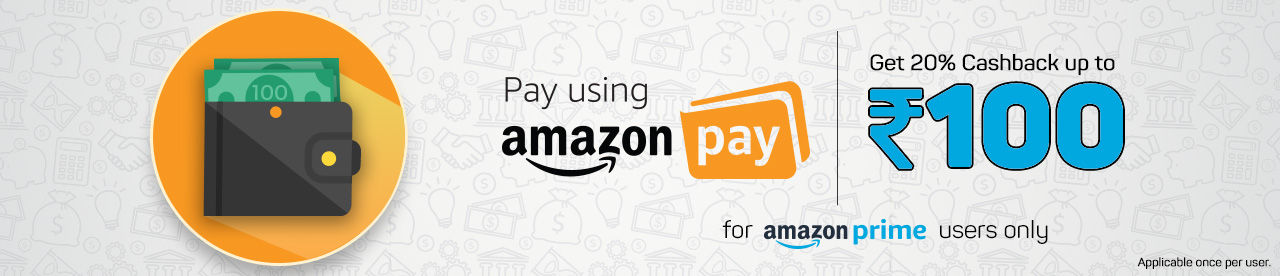 Amazon pay Rs 100 cashback offer for Prime Users Online Movie Ticket Offer - BookMyShow