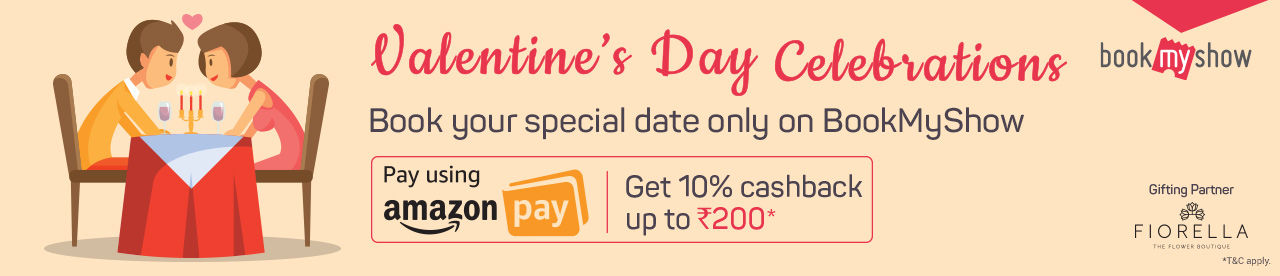 Amazon Pay -Valentine's Day Offer Online Movie Ticket Offer - BookMyShow