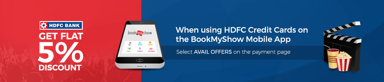 HDFC Credit Card Mobile App Offer Online Movie Ticket Offer - BookMyShow