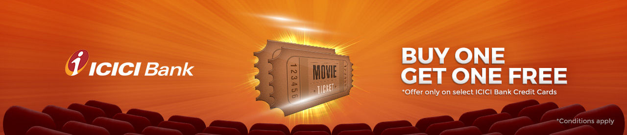 ICICI Bank Credit card Offer Online Movie Ticket Offer - BookMyShow