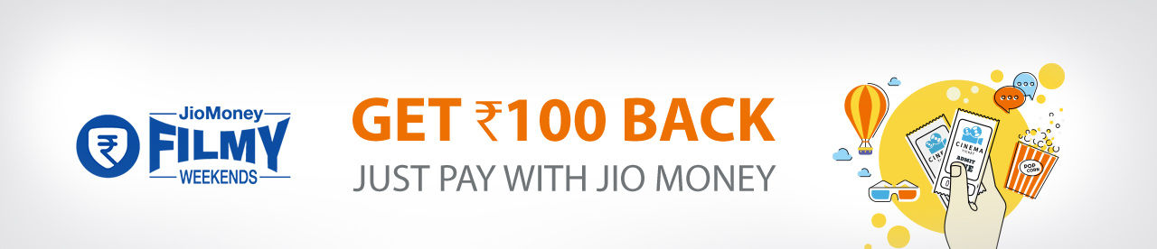 JIOMONEY FILMY WEEKENDS Online Movie Ticket Offer - BookMyShow