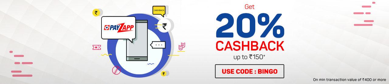 PayZapp Wallet Offer Online Movie Ticket Offer - BookMyShow