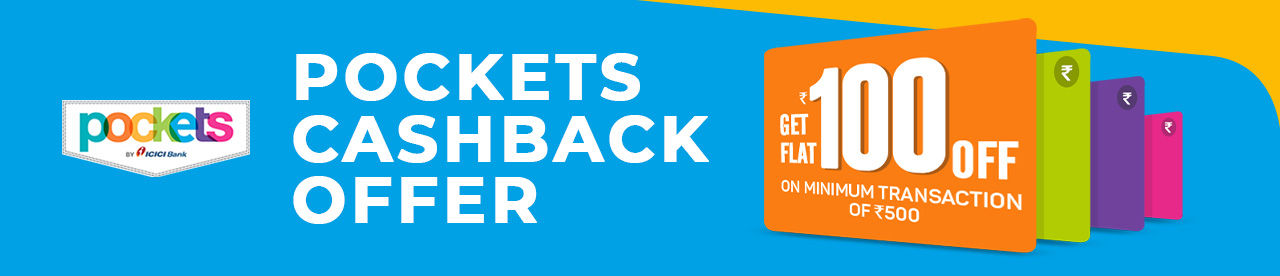 Pockets Cashback Offer Online Movie Ticket Offer - BookMyShow