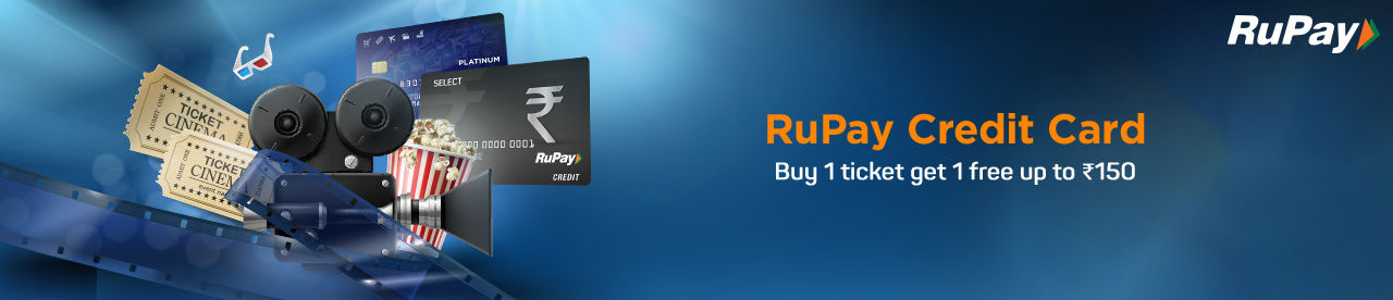 Rupay Credit Card Offer Online Movie Ticket Offer - BookMyShow