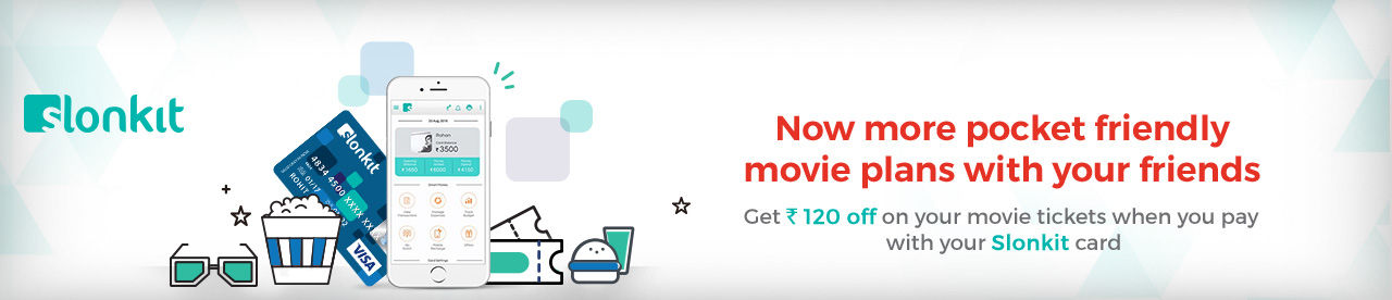 Slonkit prepaid card offer Online Movie Ticket Offer - BookMyShow
