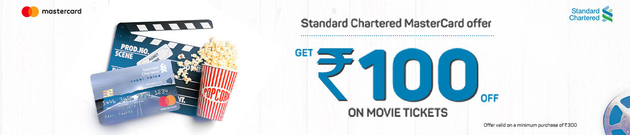 Standard Chartered Bank Mastercard Offer Online Movie Ticket Offer - BookMyShow