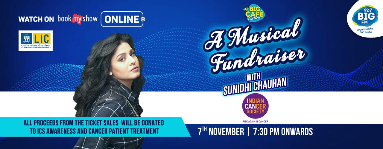 BIG Cafe Online with Sunidhi Chauhan