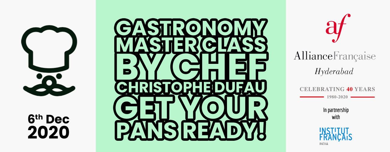 CHEF Christophe Dufau Masterclass-French Cuisine