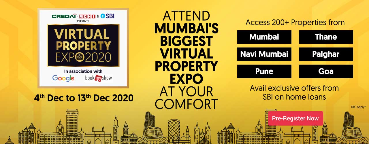 CREDAI-MCHI & SBI Presents Virtual Property Expo20