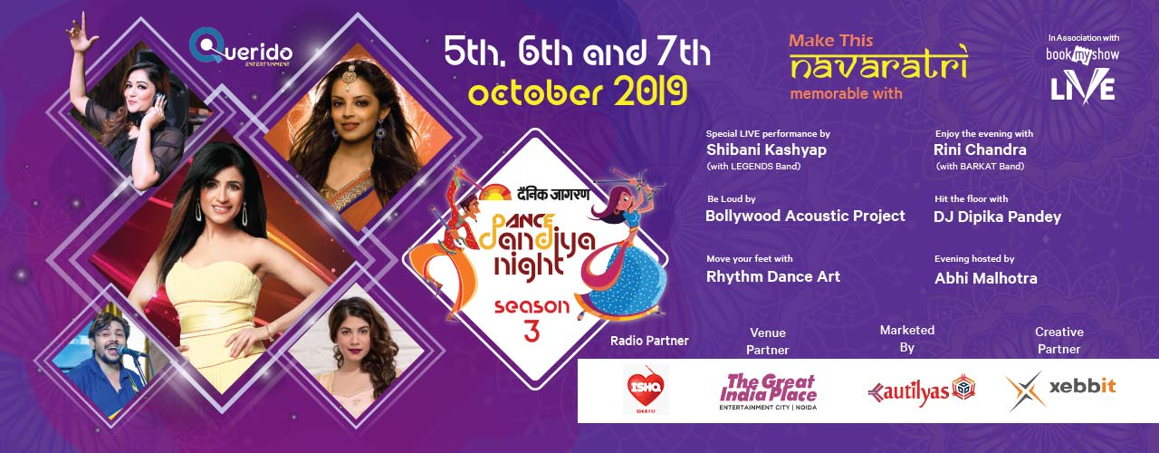 Dainik Jagran Dance Dandiya Night Season 3