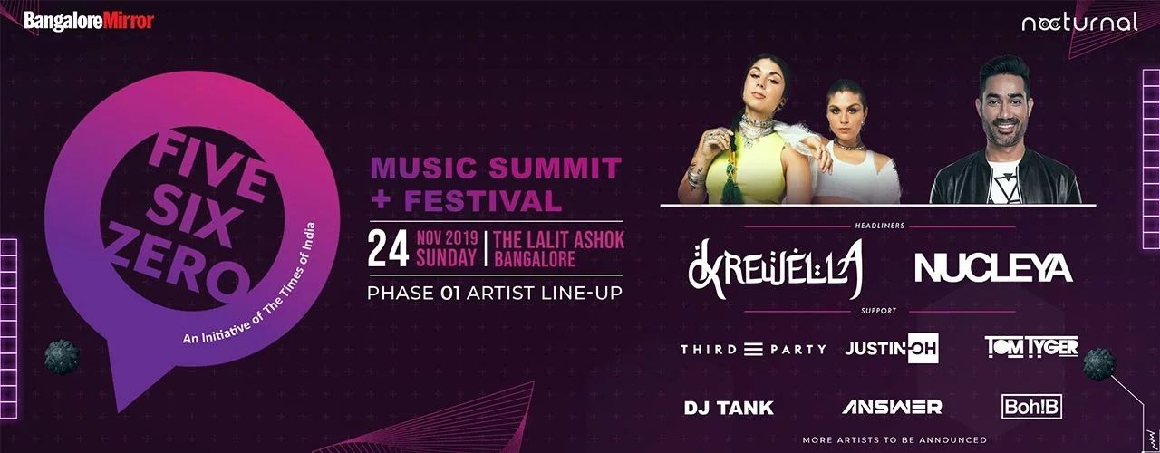 Five Six Zero 2019 - Music  Summit + Festival