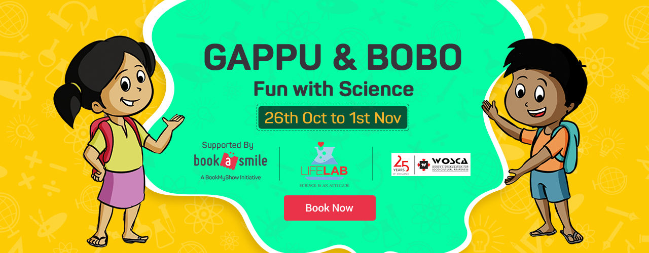 Gappu & Bobo : Fun with Science