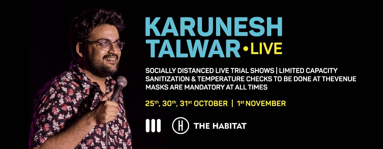 Karunesh Talwar  Live at The Habitat